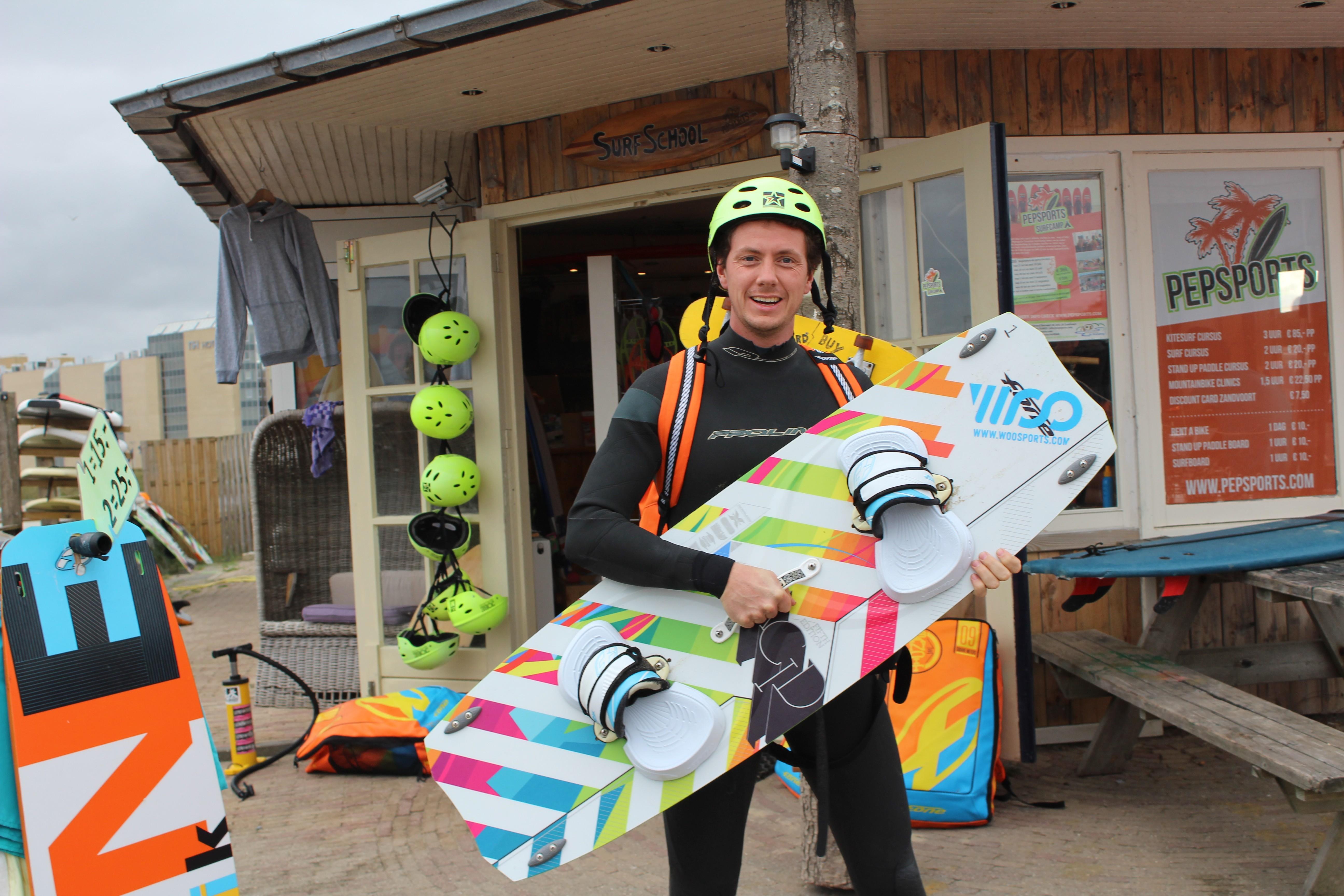 leren kitesurfen kitesurfschool