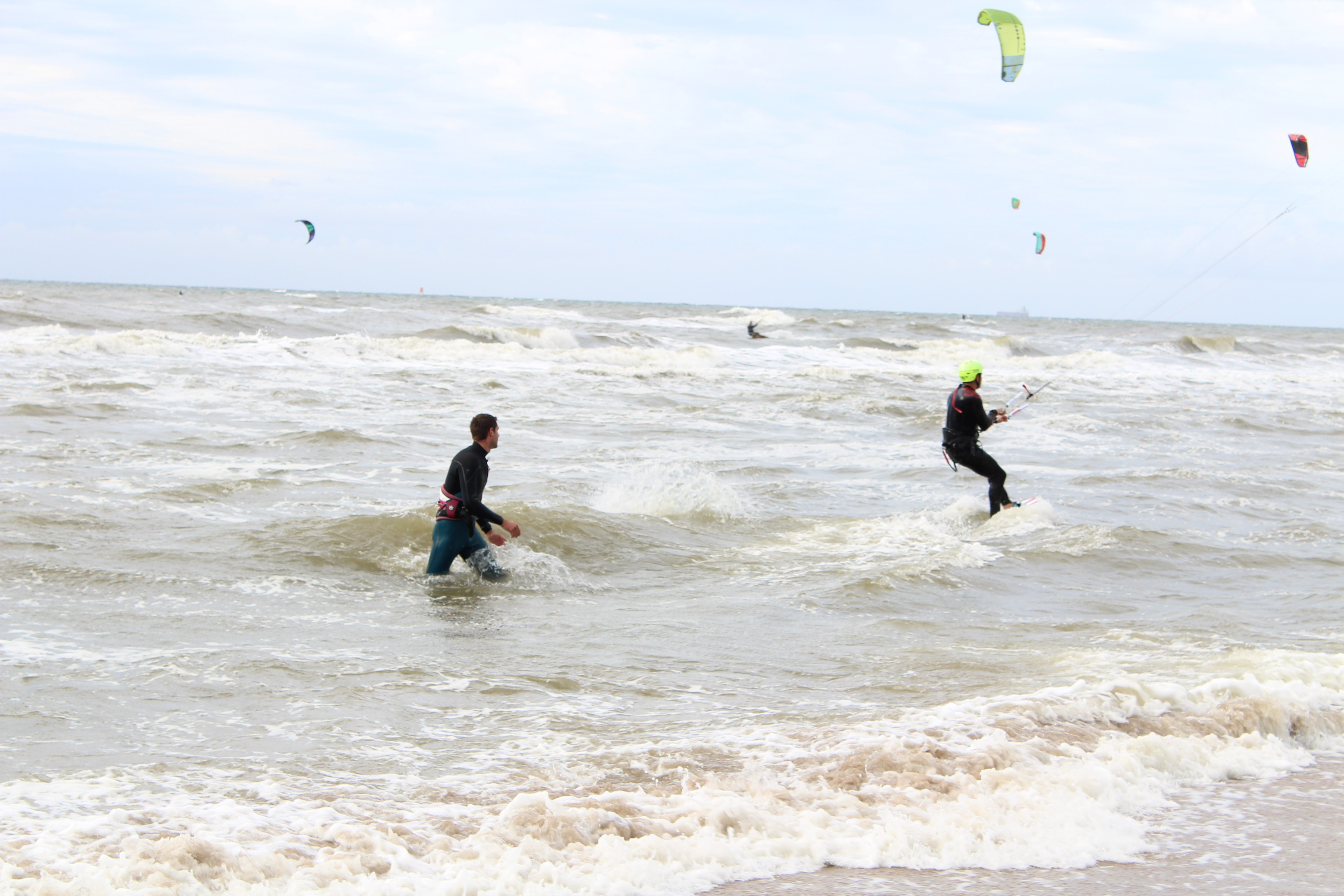kitesurfles Zandvoort