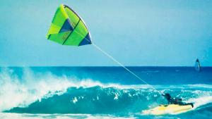 de geschiedeis van het kitesurfen
