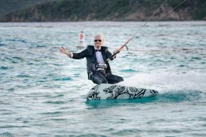 Richard brandson kitesurfen